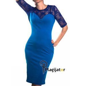 haljina-plava