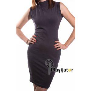 haljina-siva-bez-rukava