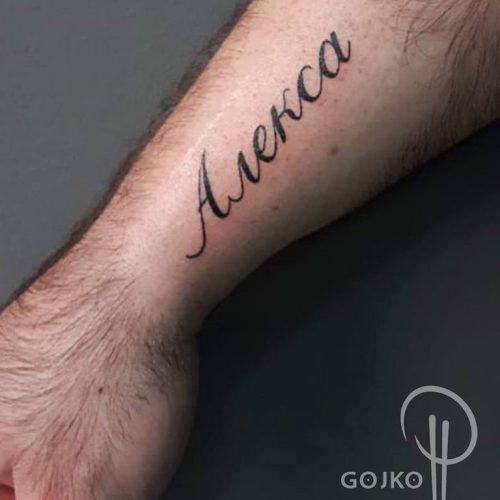 "Gojko ""Do Koske"" Tattoo 7"