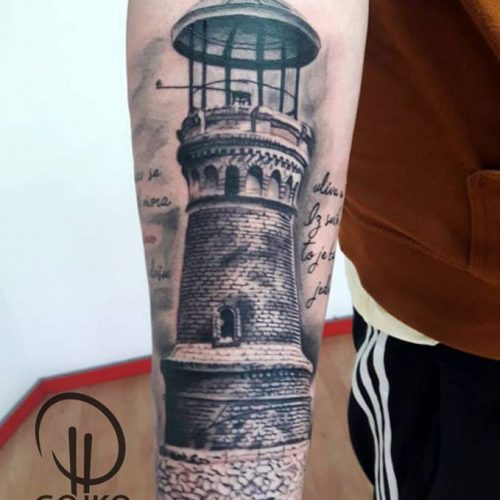 "Gojko ""Do Koske"" Tattoo 8"